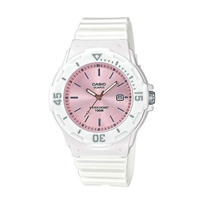 腕時計 カシオ レディース LRW-200H-4E3VEF Casio Women's Year-Round Quartz Watch with Resin Strap, Wh