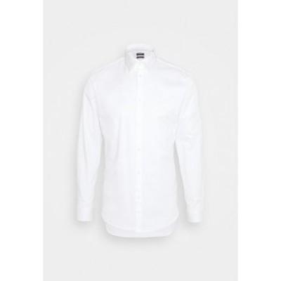 エスプリ メンズ シャツ トップス Formal shirt - white white