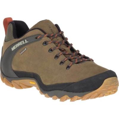 メレル Merrell メンズ ハイキング・登山 シューズ・靴 Chameleon 8 Waterproof Hiking Shoe Olive Nubuck/Mesh