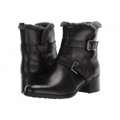 Naturalizer ナチュラライザー レディース 女性用 シューズ 靴 ブーツ アンクル ショートブーツ Deanne Waterproof Black【送料無料】
