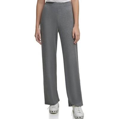 ダナ キャラン ニューヨーク レディース カジュアルパンツ ボトムス Luxe Knit Jersey Wide-Leg Pants