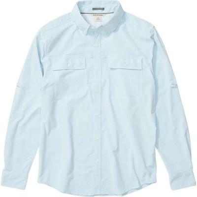 エクスオフィシオ メンズ シャツ トップス ExOfficio Men's Vizcaino LS Shirt