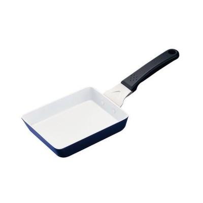 京セラ セラブリッド フライパン 玉子焼き IH対応 13x18cm CF-EB-WBU(ブルー)