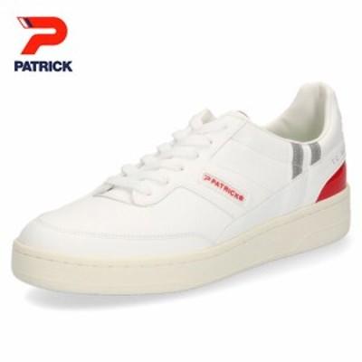 パトリック スニーカー TC9000 PATRICK WH/RD 531007 ホワイト レッド メンズ レディース 靴 日本製