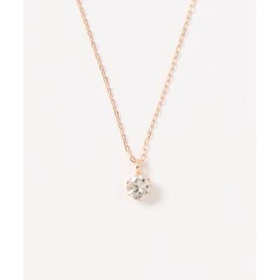 THE PLATINUM SELECT / 【D-COLLECTION】ディーコレクション 18Kゴールド ダイヤモンド ネックレス 0.3ct WOMEN アクセサリー > ネックレス