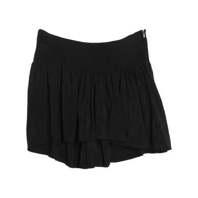 DIXIE ミニスカート ブラック S レーヨン 100% ミニスカート