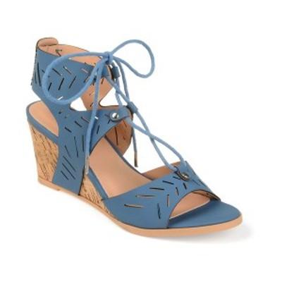 ジャーニーコレクション レディース サンダル シューズ Women's Minny Wedges Blue