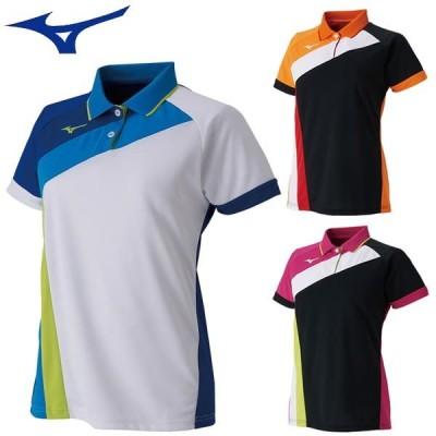 ミズノ ゲームシャツ(ラケットスポーツ)[レディース] ラケットスポーツ練習着 テニス用品 62JA9215