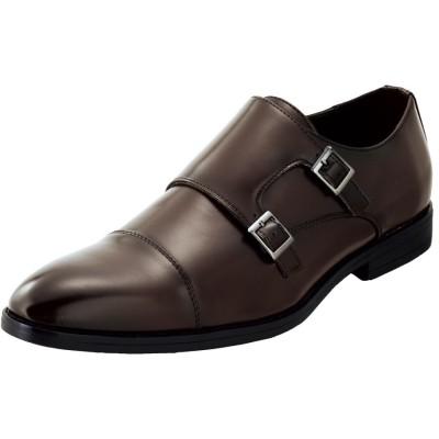 UN SNOBBISH(アンスノビッシュ)ダブルモンクストラップビジネスシューズ ビジネスシューズ, Shoes