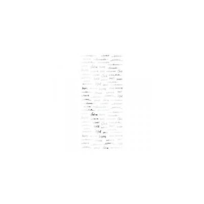 TSUMEKIRA ツメキラ ネイルシール SAICOプロデュース3 Freehand words シルバー SG-SAI-103
