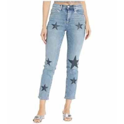 ブランクニューヨーク レディース デニムパンツ ボトムス Star Printed Jeans in Ever After Ever After