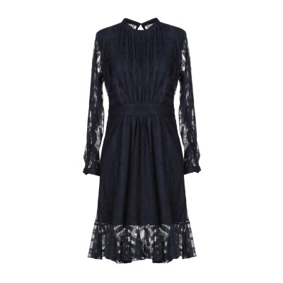 ジャストカヴァリ JUST CAVALLI ミニワンピース&ドレス ダークブルー 42 ポリエステル 100% ミニワンピース&ドレス