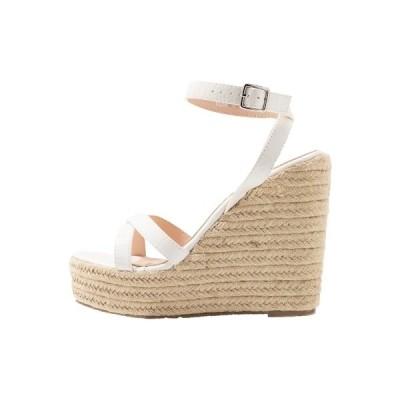 レイド サンダル レディース シューズ ELISHA - High heeled sandals - white