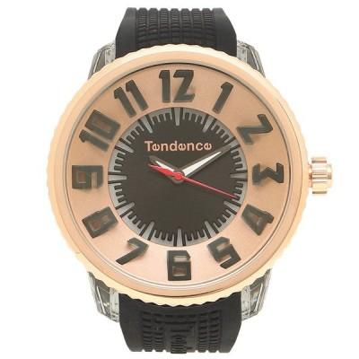 【返品OK】テンデンス 腕時計 レディース/メンズ TENDENCE TY532002 ブラック ローズゴールド