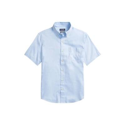 チャップス メンズ シャツ トップス Go Untucked Cotton Button-Down Shirt