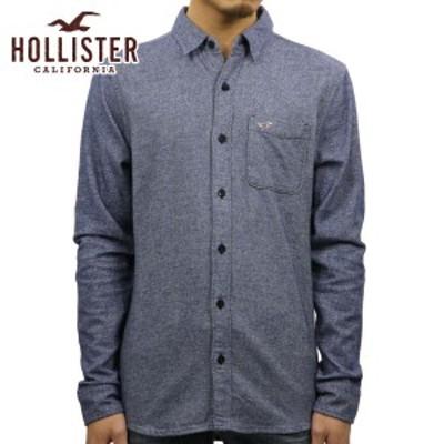 ホリスター シャツ メンズ 正規品 HOLLISTER 長袖シャツ  Textured Flannel Shirt 325-259-1489-202