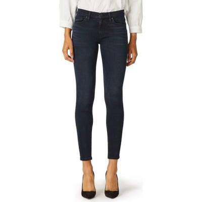 ハドソンジーンズ Hudson Jeans レディース ジーンズ・デニム リップドジーンズ ボトムス・パンツ Nico Ripped Super-Skinny Ankle Jeans Inked Pitch
