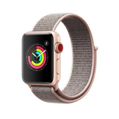 AIGENIU コンパチブル Apple Watch バンド、ナイロンスポーツループバンド Apple Watch Series4/3/2/1に対応 (42mm/44mm