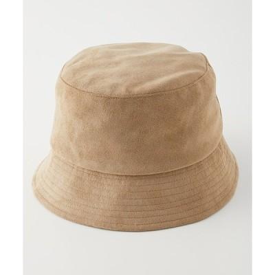 帽子 ハット ECO SUEDE BUCKET HAT/エコスエードバケットハット