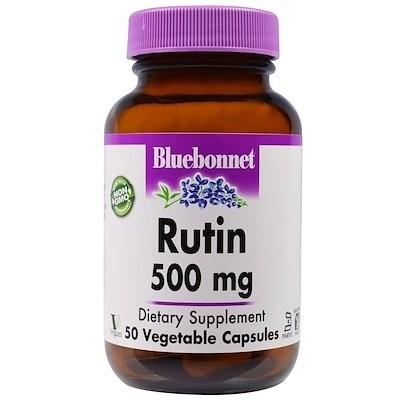 Rutin, 500 mg, 50 Vegetarian Capsules