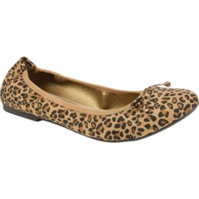 リアルト Rialto レディース スリッポン・フラット シューズ・靴 Sunnyside II Ballet Flat Leopard Suedette Fabric