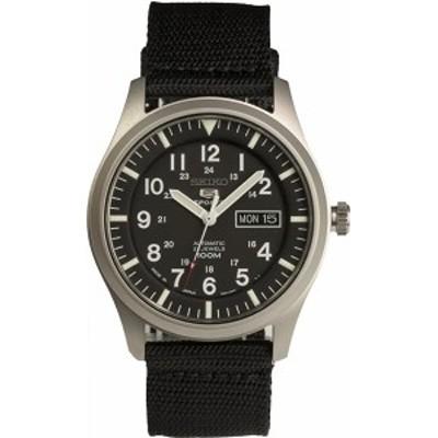 セイコーSEIKO メンズ時計 セイコー5スポーツ ナイロンストラップ SNZG15J1 腕時計