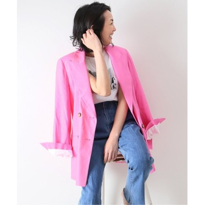 (Spick & Span/スピック&スパン)【KALLMEYER】 Pointed Lapel Blazer◆/レディース ピンク