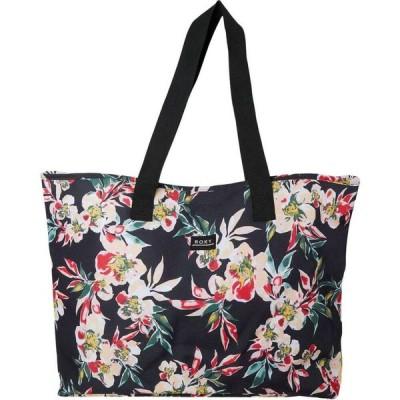 ロキシー Roxy レディース トートバッグ バッグ Wildflower Tote Bag Anthracite Wonder Garden