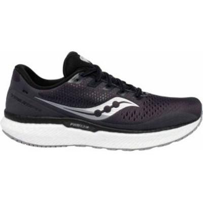サッカニー メンズ スニーカー シューズ Saucony Men's Triumph 18 Running Shoes Grey/White