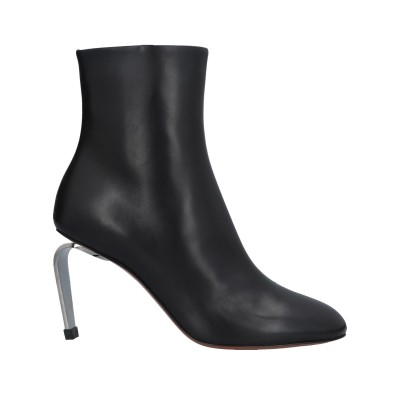 CLERGERIE ショートブーツ ブラック 36 革 ショートブーツ