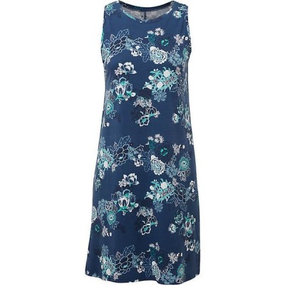 シャーパ ワンピース レディース トップス Sherpa Women's Padma Dress Neelo Blue Print