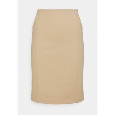 パトリツィア ペペ スカート レディース ボトムス GONNA SKIRT - Pencil skirt - triking beige