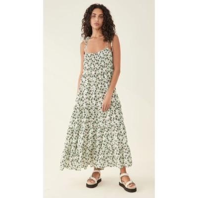 リキソ RIXO レディース ワンピース ワンピース・ドレス Herbie Dress Shell Squiggle Mint Mono