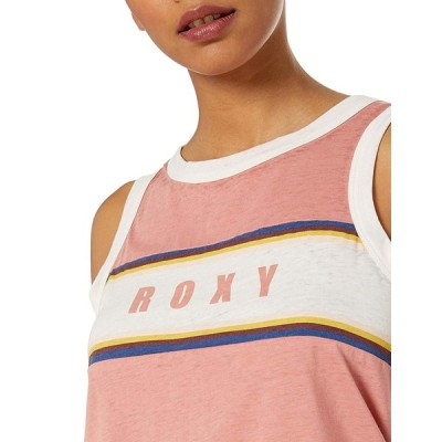 Roxy Junior's You are The Only One Muscle Tank Top, Desert Sand M