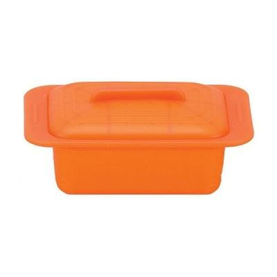 シリコンスチーマー ウノ キャロットオレンジ 59628 ViV(ASTK202)8-0233-0102 キッチン、台所用品
