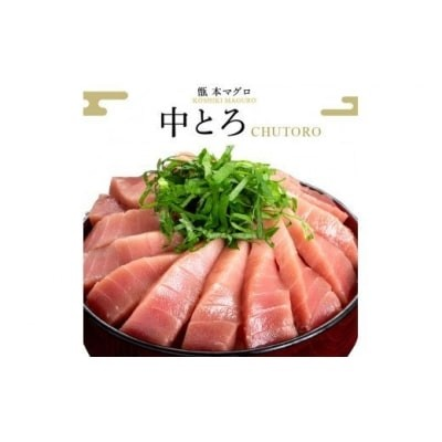 【3カ月定期便】こしき本マグロ (中トロ) C-018