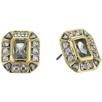Vince Camuto Asher Cut Stud Earrings レディース ピアス イヤリング Gold/Crystal