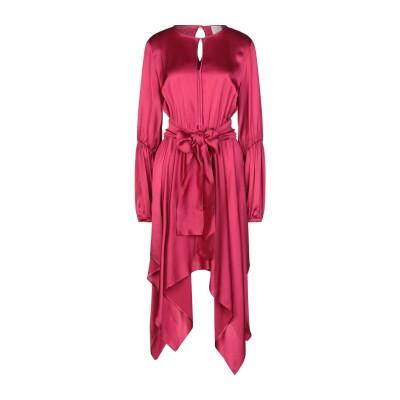 ジジル JIJIL ミニワンピース&ドレス フューシャ 42 レーヨン 100% ミニワンピース&ドレス