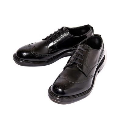 シューズ KIDS LOVE GAITE Glass Leather Wing Tip Shoes