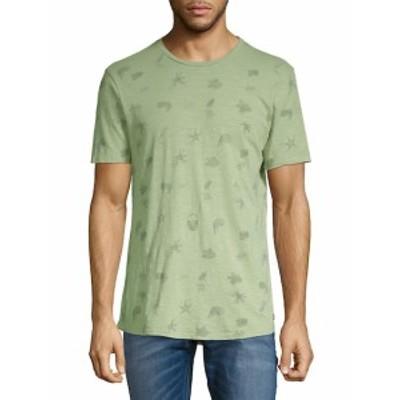 シビルソサエティ Men Clothing Graphic Cotton Tee