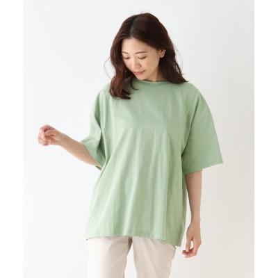 tシャツ Tシャツ バックレースアップTシャツ