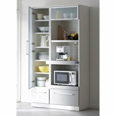 家具 収納 キッチン収納 食器棚 SmartII スマート2 ステンレスシリーズキッチン収納 キャビネット左開き 幅40cm H05206