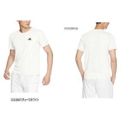【実店舗共通在庫】アディダス ワンポイント ロゴ Tシャツ EUC92 メンズ 男性用 半袖 ランニング シャツ