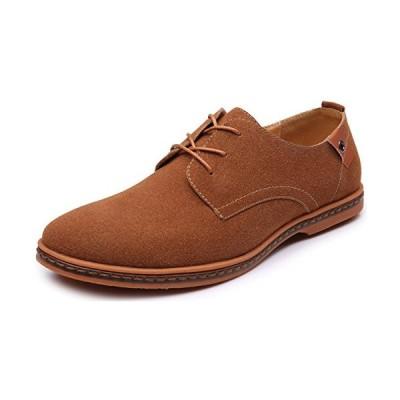 [Laprincesse] スエードシューズ メンズ レースアップシューズ ビジネスシューズ カジュアルシューズ デザートブーツ スエード靴 メンズ
