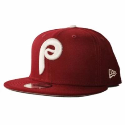 ニューエラ スナップバックキャップ 帽子 NEW ERA 9fifty メンズ レディース MLB フィラデルフィア フィリーズ フリーサイズ [ rd ]