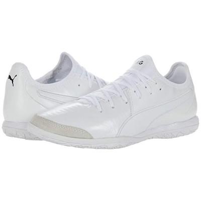 プーマ King Pro IT メンズ スニーカー 靴 シューズ Puma White/Puma White/Puma White