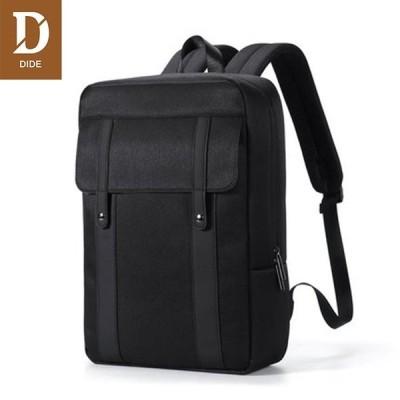 送料無料 メンズ リュック ビジネス レザー リュックサック 大容量 PC 収納 通勤 通学 鞄 かばん カジュアル アウトドア リュックバッグ カーキ色dq925-1