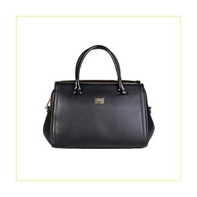 【新品・未使用品】Cavalli Class Eco Leather Black Handbag - MEASURES (cm): L.32 H.20 P.11【並行輸入品】
