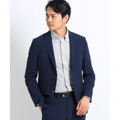 TAKEO KIKUCHI/タケオキクチ 4WAY クールマックス(R)サッカージャケット ネイビー(093) 03(L)