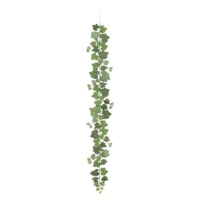 人工観葉植物 フェイクグリーン 造花)フロストラージグレープガーランド(ワイヤー入)(GL113)